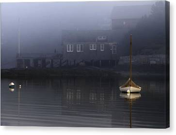 Down East Canvas Print featuring the photograph Still Of Morning  by Thomas Schoeller