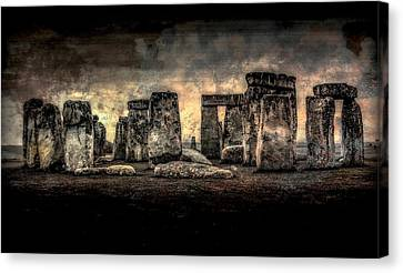 Stonehenge Revisited Canvas Print by Jeff Watts