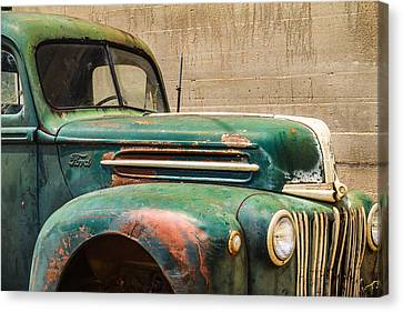 Stonewall Ford Truck Canvas Print by Steven Bateson