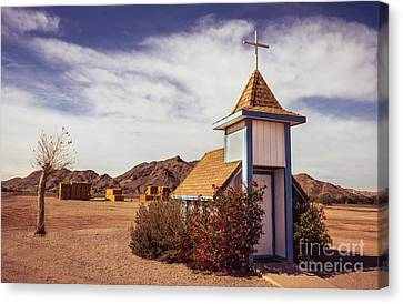 Stop Rest Worship Canvas Print by Robert Bales