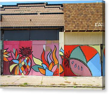 Store Front Art Canvas Print by David Kyte