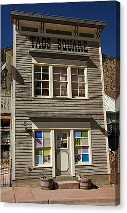 Store Front Canvas Print by David Pettit