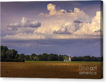 Storm A Coming Canvas Print by Marvin Spates