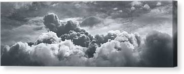 Storm Clouds Over Sheboygan Canvas Print by Scott Norris