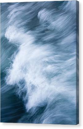 Storm Driven Canvas Print by Mike  Dawson