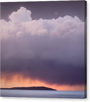 Storm Over Gruinard Bay Canvas Print by Dave Bowman