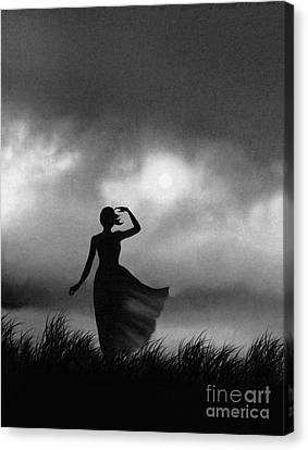 Storm Watcher Canvas Print by Robert Foster