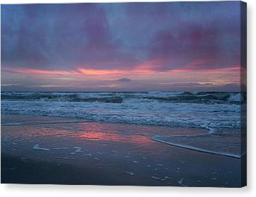 Stormy Morning Glory Canvas Print by Betsy C Knapp