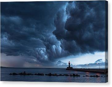 Stormy Skies Canvas Print by Alex Ganeev