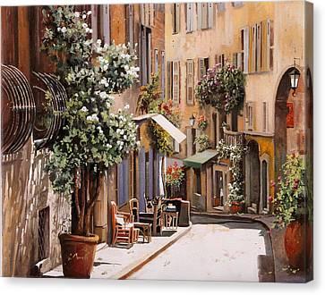 stradina di Grasse Canvas Print by Guido Borelli