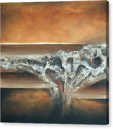 Strata Canvas Print by Mike Irwin