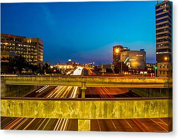 Streaking By Canvas Print by Dado Molina