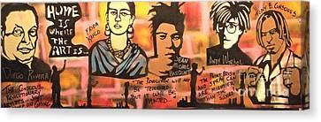 Street Art Lives Canvas Print by Tony B Conscious