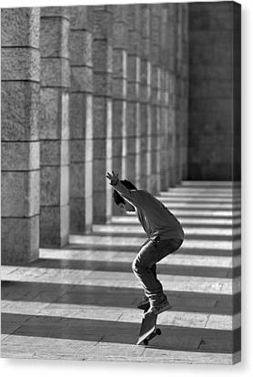 Street Dancer Canvas Print by Fulvio Pellegrini