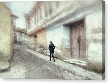 Street Canvas Print by Okan YILMAZ