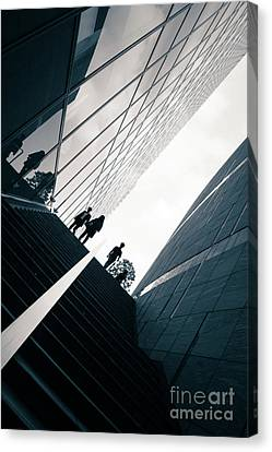 Street Photography Tokyo Canvas Print by Jane Rix