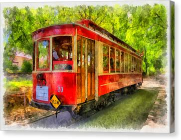 Streetcar 23 Canvas Print by Mark Kiver