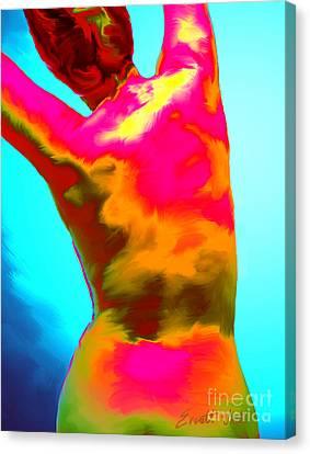 Stretch Back Canvas Print by Everett White