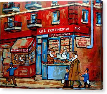 Strictly Kosher Canvas Print by Carole Spandau