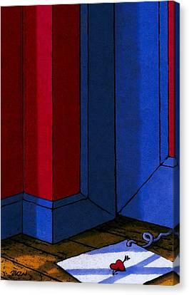 Strings Canvas Print by Tom Dickson