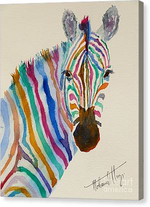 Stripes Canvas Print by Mohamed Hirji
