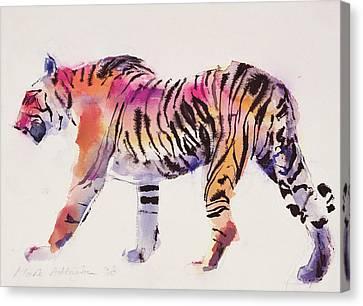 Stripey Canvas Print by Mark Adlington