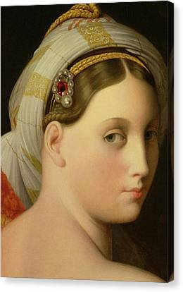 Study For An Odalisque Canvas Print by Ingres