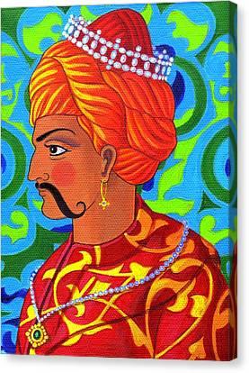Sultan Canvas Print by Jane Tattersfield
