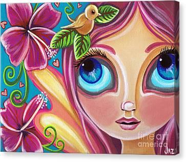 Summer Bliss Fairy Canvas Print by Jaz Higgins