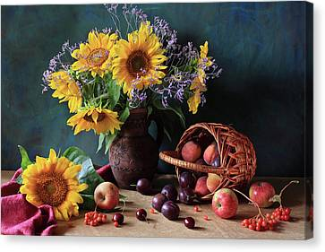 Summer Exuberance Canvas Print by Panga Natalie Ukraine
