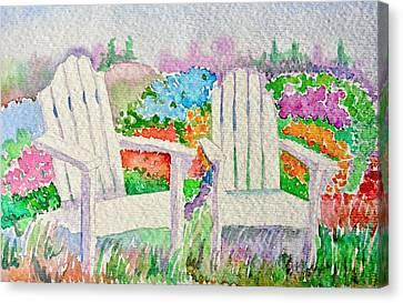 Summer In Paradise Canvas Print by Elena Mahoney