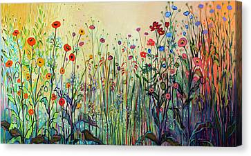 Summer Joy Canvas Print by Jennifer Lommers