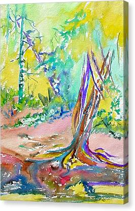 Summer Light Canvas Print by Patricia Bigelow