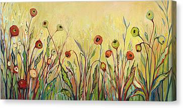 Summer Poppies Canvas Print by Jennifer Lommers