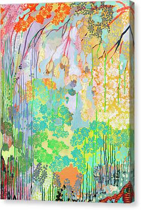 Summer Rain Part 2 Canvas Print by Jennifer Lommers