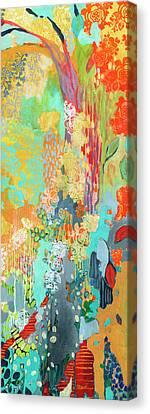 Summer Rain Part 3 Canvas Print by Jennifer Lommers
