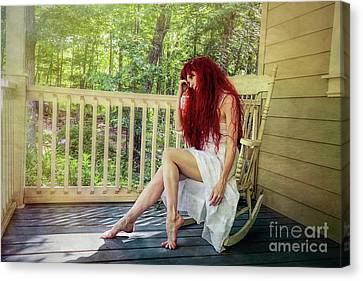 Summer Reveries Canvas Print by Spokenin RED