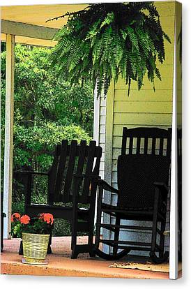 Summer Sitting Canvas Print by Joyce Kimble Smith