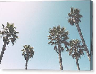 Summer Sky- By Linda Woods Canvas Print by Linda Woods