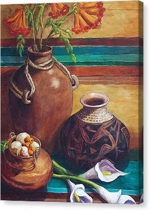 Summer Still Life Canvas Print by Candy Mayer
