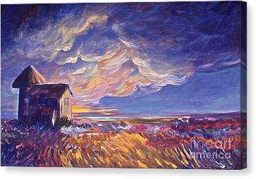 Summer Storm Canvas Print by Joanne Smoley