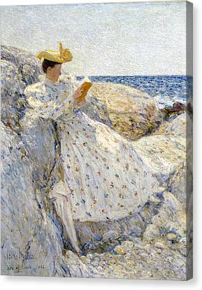 Summer Sunlight Canvas Print by Childe Hassam