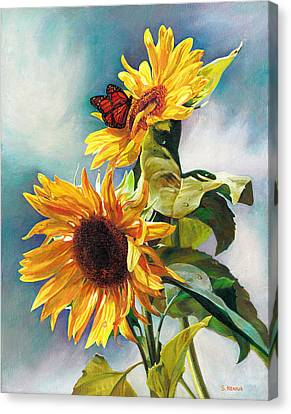 Summer Canvas Print by Svitozar Nenyuk