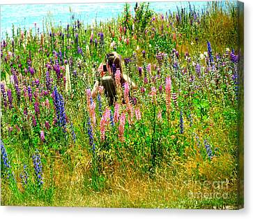Summer Time Canvas Print by Joyce Woodhouse