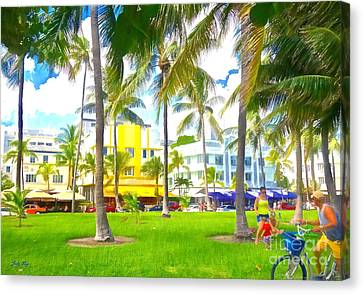 Summer Time Canvas Print by Judy Kay