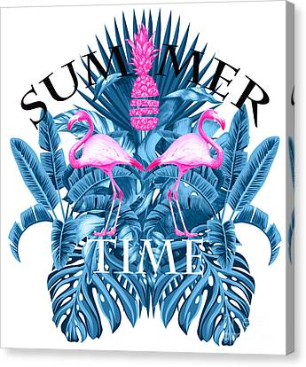 Summer Time Tropical  Canvas Print by Mark Ashkenazi