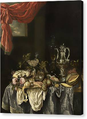 Sumptuous Still Life Canvas Print by Mountain Dreams
