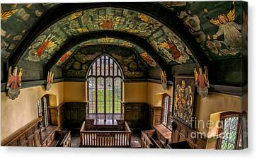 Sun And Moon Chapel Canvas Print by Adrian Evans