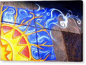 Sun And The Wind Canvas Print by Chris Montecalvo