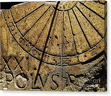 Sun Dial Canvas Print by Mexicolors Art Photography